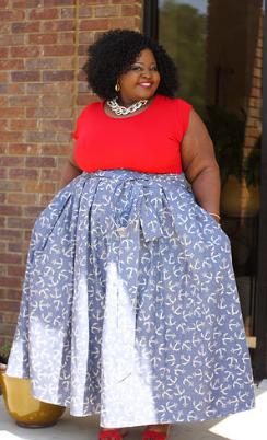 st. clair maxi skirt